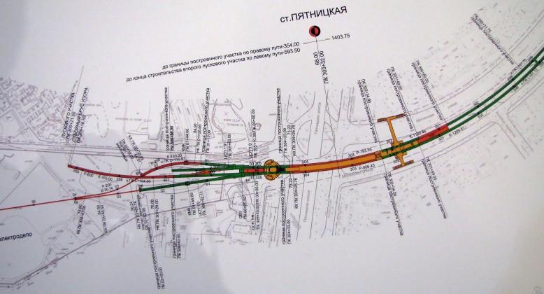 Реконструкция Пятницкого шоссе 2018. Схема. Проведение модернизации