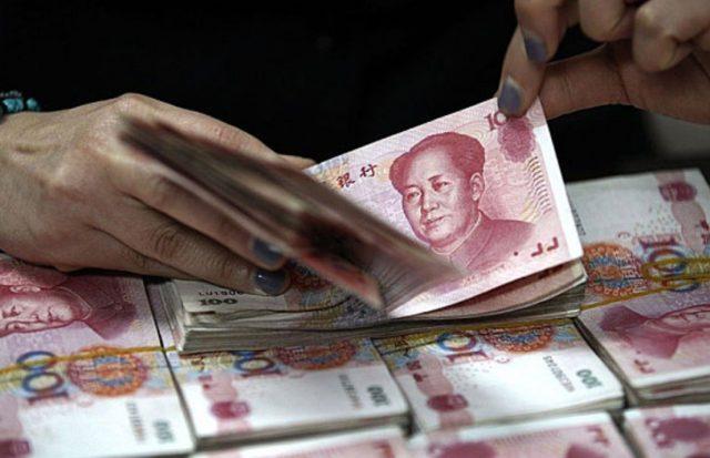 ЦБ Китая ослабил курс юаня к доллару на 0,58% за один день