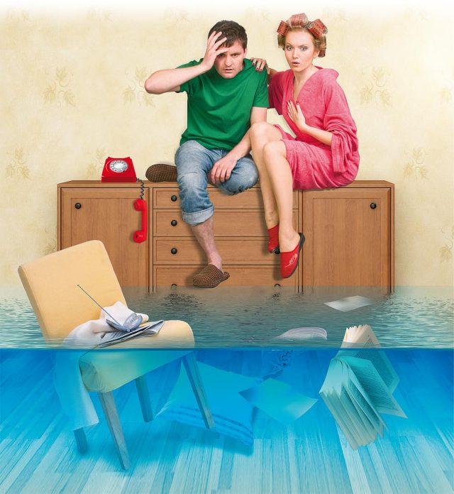 Страховщики определили, кто чаще всего заливает квартиры соседей и наносит вред застрахованному имуществу