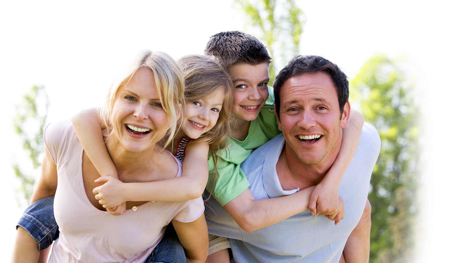 Фото семьи в которой семь детей