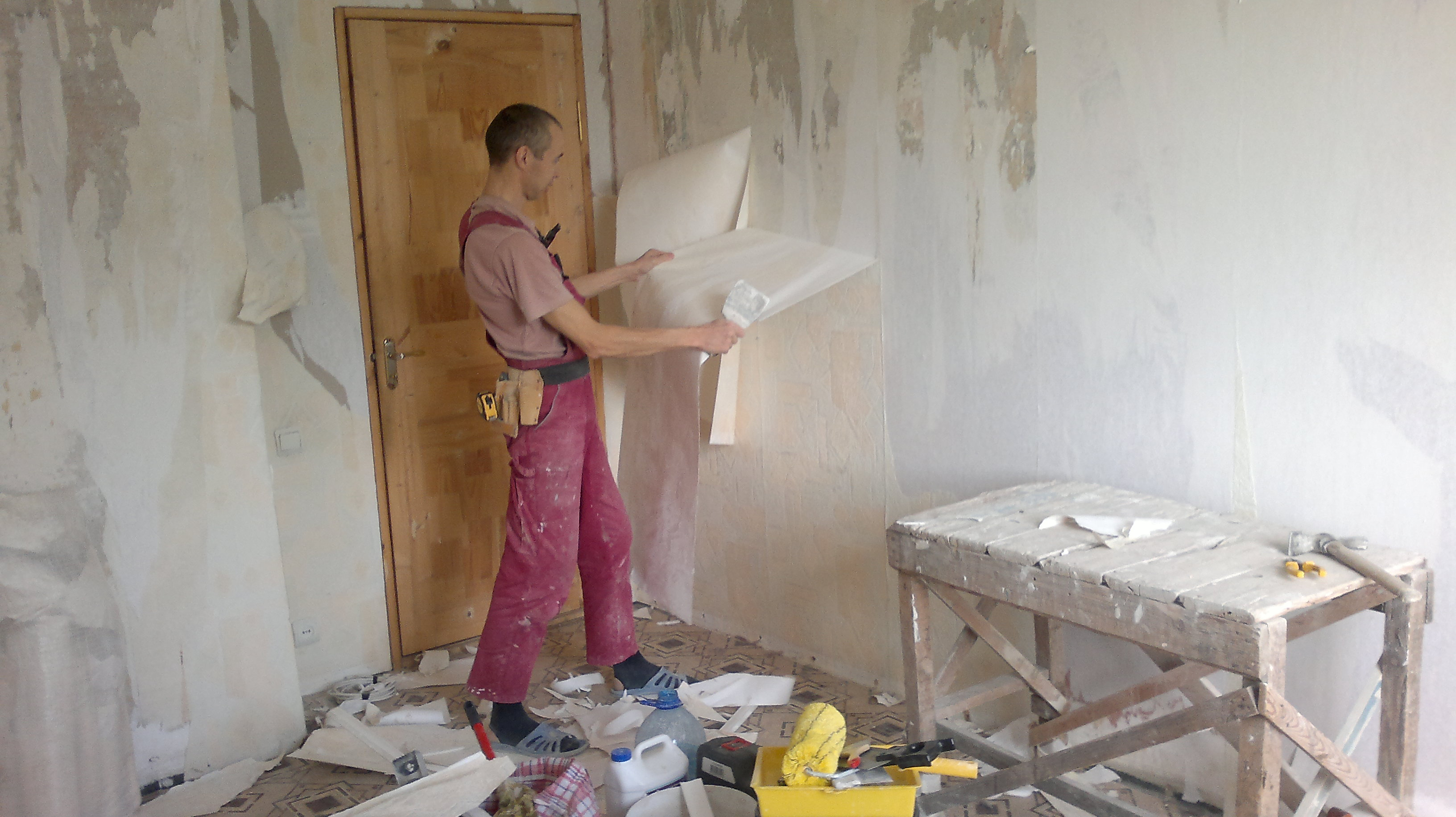 Ремонт квартиры своими руками с фото до 71