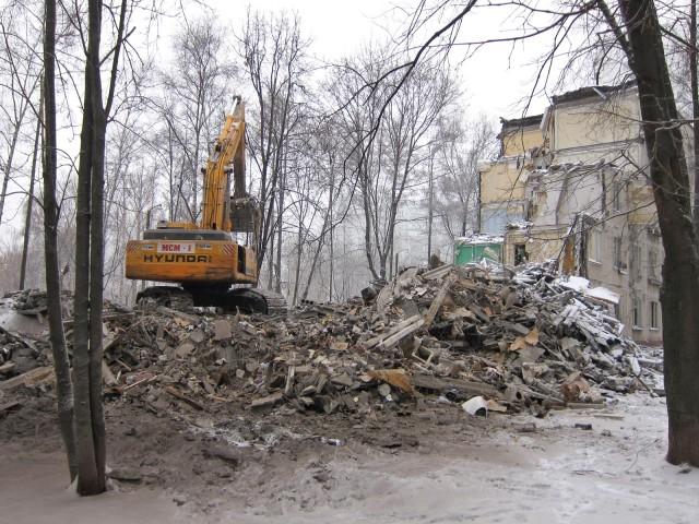 План сноса домов на 2016 год в Москве