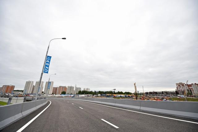Реконструкция Дмитровского шоссе в 2015-2016 году, схема