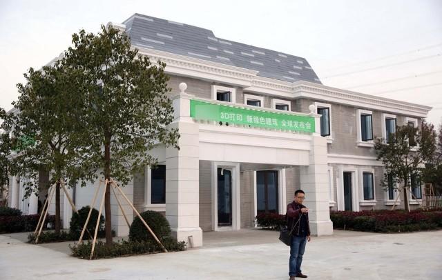 Китайцы собрались продавать в России отпечатанные на 3D-принтере дома