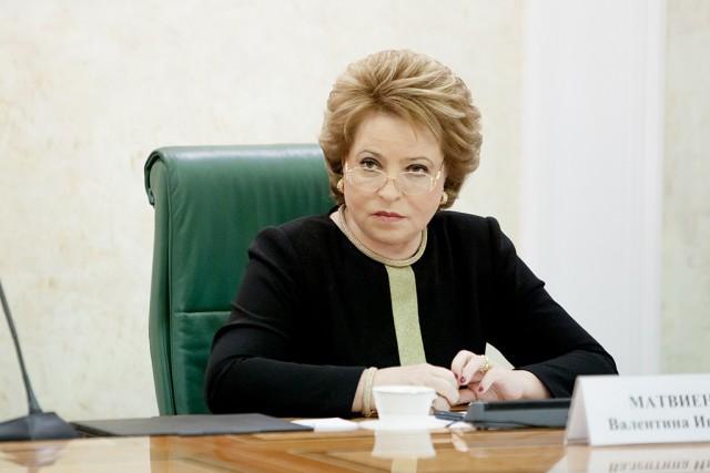 Матвиенко предложила новые меры по борьбе с банкротствами