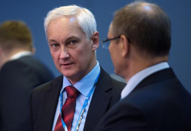 Белоусов: новой команде ВЭБа удалось закрыть проблемы банка на 2016 год