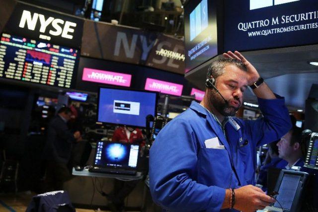 Рынки США упали до минимума за 10 месяцев после Brexit