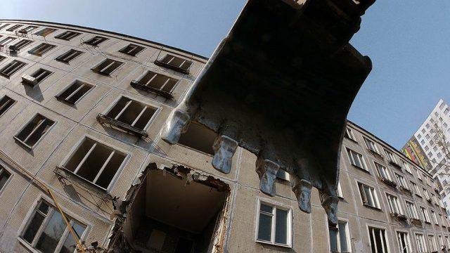 Совфед рассмотрит возможность сноса пятиэтажек по всей стране