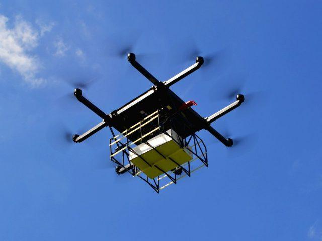 Сбербанк испытает дрон для перевозки наличных