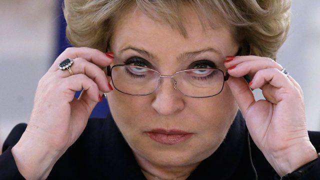 Матвиенко не поддерживает идею введения прогрессивной шкалы налогообложения