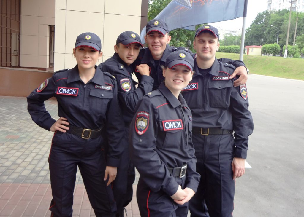 полицеййские