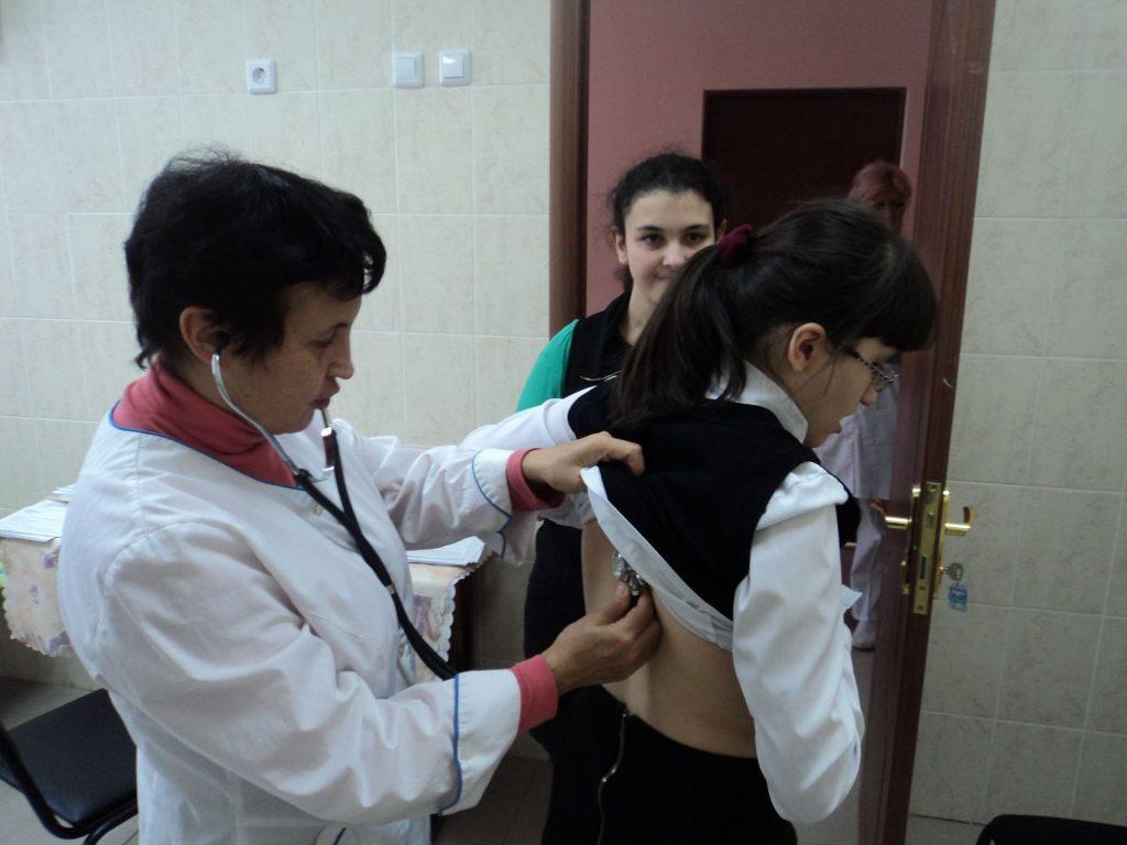 школьные врачи