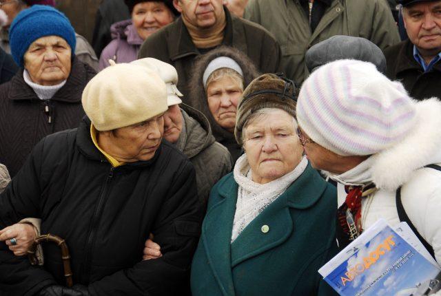 Пенсионеры отказываются от подсобного хозяйства
