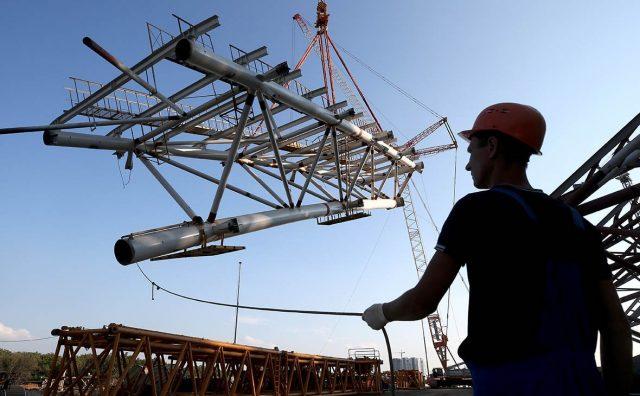 Финансовые результаты строительной отрасли упали более чем на 60%