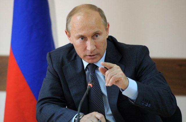 Путин призвал отказаться от строительства