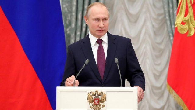 Кремль опубликовал экономическую программу на следующий срок президента Владимира Путина