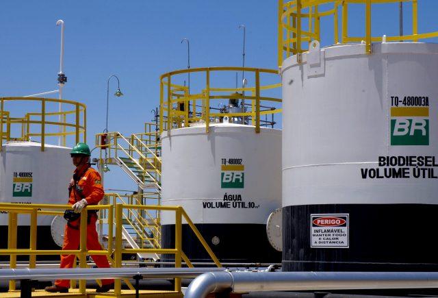 Индекс Bovespa, обвал акций Petrobras