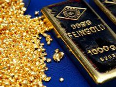 Золото растет в цене на рисках внешнеторговой войны