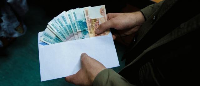 Большая часть осужденных за взятку в РФ получили менее 10 тыс руб